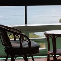 *【客室一例】お部屋から眺める浜中湖も素敵です