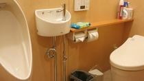 2階の男女兼用のトイレ