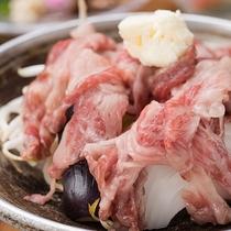 *夕食一例(夕食黒毛和牛すき)/とろける美味しさをギュ、ギュっと濃縮しました