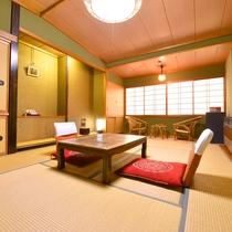 ◎客室一例(和室)/お部屋は宿任せですが全室バストイレ付きです。