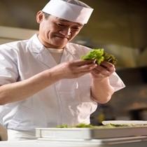 【 親方 】 山菜の目利き