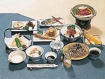 地元の宴会需要も多い料理は自慢のひとつ