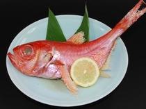 金目鯛塩焼き