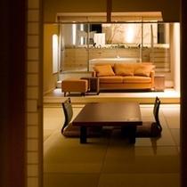 【月の舟】(露天風呂付客室1間)お部屋