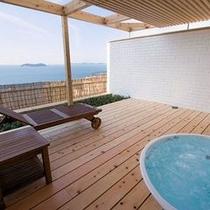 【星の林】庭園露天風呂付客室(2間)ジャグジー