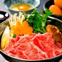 みかわ牛のすき焼き(イメージ)