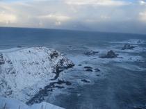 冬の襟裳岬