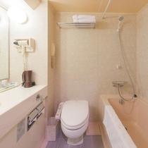*ツインルームバスルーム一例