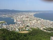 函館山山頂から見える風景