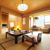 【石楠花・こま草】2名1室利用時。1名様23,850〜 和室10畳/半露天付き客室
