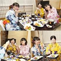 女子会☆夕食&『別腹デザート』