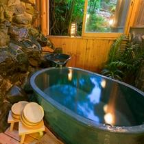 【月の宿】贅沢に温泉掛け流し♪露天風呂付客室