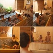 家族旅行☆貸切風呂でゆったり♪