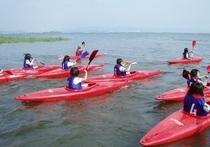 カヌー体験学習