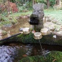折立釈迦堂の疣水(しゃかどうのいぼみず)