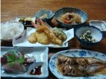 =ご夕食イメージ=宮津の海の幸を取り入れた、家庭的なお味でご用意します。。。
