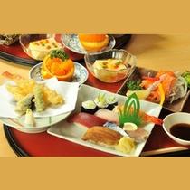 *お食事一例/寿司天ぷら御膳
