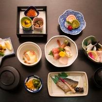 *【ご夕食一例】手作り、食材にこだわり、豊富な品数と旨さをご提供いたします!