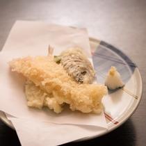 *【ご夕食一例(シルバープラン)】基本プランのお食事よりも少々少なめとなります。