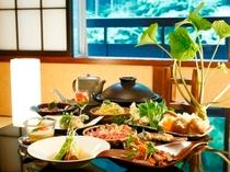 駿河軍鶏料理一例