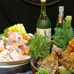 【あいたい兵庫】宝楽焼◆【淡路の海幸】 活造り&宝楽焼きプラン(現金特価)