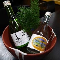 *淡路のお酒:淡路島の地酒もご用意。お食事のお供にきりっとしたお酒を楽しんでみてはいかがですか?