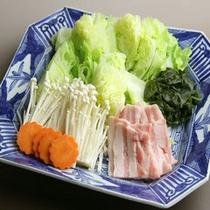 信州ポークとレタスのしゃぶしゃぶ(別注料理)