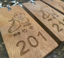 竹やオリジナルのルームキー