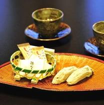*お茶菓子