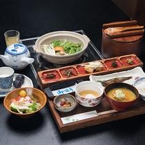 *【ご朝食一例】ご朝食も山の幸をふんだんに使用し、どこか素朴で懐かしい、そんな朝ご飯。