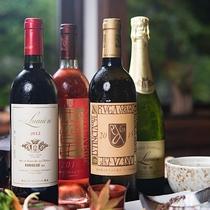 *【ドリンク(ワイン)一例】山梨甲州ワインもご用意しております。ご一緒にお楽しみくださいませ。