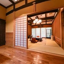 *【客室一例(2階あざみ)】館主こだわりの調度品など、お部屋は一部屋ごとに異なる造りとなっております
