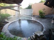 【大浴場】こづみの湯 露天風呂3