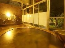 家族風呂 火の湯 夜1