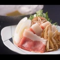 ★試食会人気NO1!『猪のハリハリ鍋』★猪肉は噛むほどに溢れる上質な旨みと甘み!箸が止まらない絶品鍋