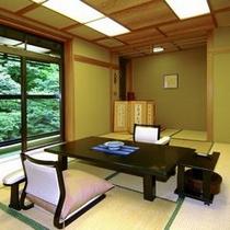 一般客室(和室10畳)の一例
