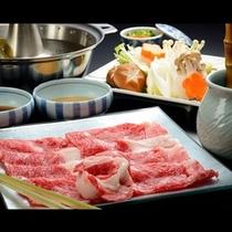 【福島県産牛肉しゃぶしゃぶ】