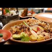 ■焙烙焼き■秋を味だけではなく『香り』と『盛り付け』でも堪能できる職人の技!(食材によって変更有