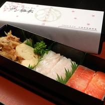 北陸新幹線開業祝 サン柳亭のおもてなし弁当