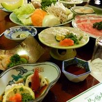 季節のお料理★すきやき会席一例