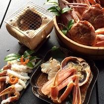 釜揚げ本ずわい蟹フルコース2
