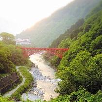 山彦橋(朝)