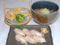 ハタハタ寿司定食(期間限定)