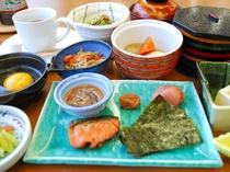 【朝食】和定食.
