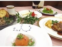 フランス料理フルコース