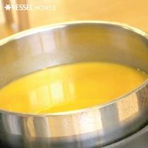 コーンスープはお子様にも人気ですよ☆