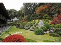 龍潭寺 庭園紅葉
