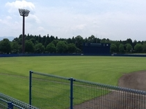野球場がたくさん