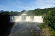原尻の滝 虹