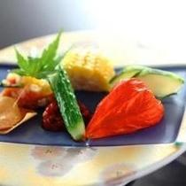 安曇野の新鮮な夏野菜